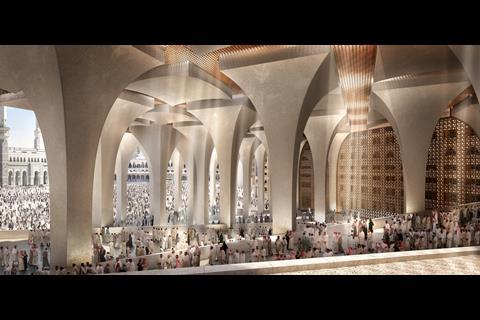 Foster + Partners Mecca hotel proposals for the Jabar Omar Development Company